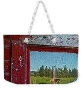 Ranch Reflection Weekender Tote Bag