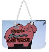 Rancho Super Car Wash  Weekender Tote Bag