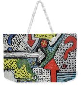 Random Art Weekender Tote Bag