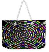 Random Color Oval Abstract Weekender Tote Bag
