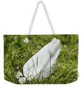 Random Feather Weekender Tote Bag