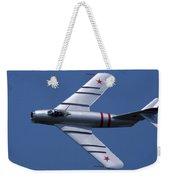 Randy Ball's Mig-17f Banking Left Weekender Tote Bag