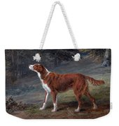 Ranger A Setter The Property Of Elizabeth Gray Weekender Tote Bag