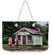 Rankins Grocery In Watercolor Weekender Tote Bag