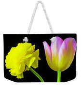 Ranunculus And Tulip Weekender Tote Bag