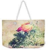 Ranunculus Stilllife Weekender Tote Bag