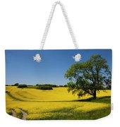Rapeseed Field,west Sussex, England  Weekender Tote Bag