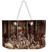 Raphael The Baptism Of Constantine Weekender Tote Bag