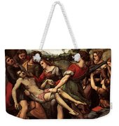 Raphael The Entombment Weekender Tote Bag
