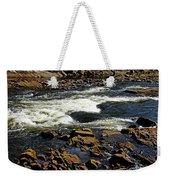 Rapids And Rocks Weekender Tote Bag