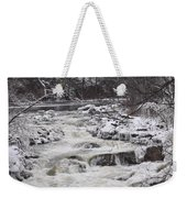 Rapids At Bull's Bridge 1 Weekender Tote Bag