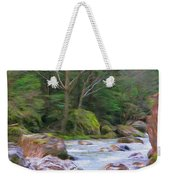 Rapids At The Rivers Bend Weekender Tote Bag