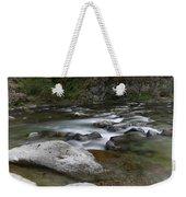 Rapids On The Washougal River Weekender Tote Bag