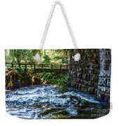 Rapids Weekender Tote Bag by William Norton