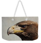 Raptor Wild Bird Of Prey Portrait Closeup Weekender Tote Bag