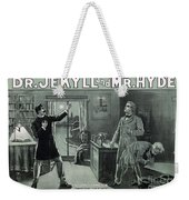Rare Dr. Jekyll And Mr. Hyde Transformation Poster Weekender Tote Bag