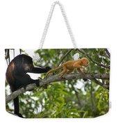 Rare Golden Monkey Weekender Tote Bag