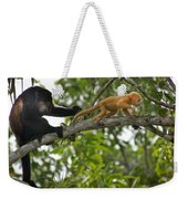Rare Golden Monkey Weekender Tote Bag