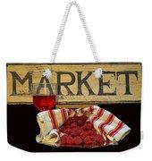 Raspberries At The Market Weekender Tote Bag