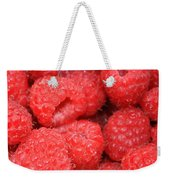 Raspberries Close-up Weekender Tote Bag