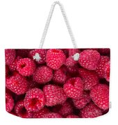 Raspberry  Weekender Tote Bag