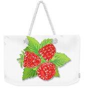 Raspberry Bunch  Weekender Tote Bag