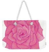Raspberry Pink Weekender Tote Bag