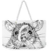 Rat Sketch Weekender Tote Bag