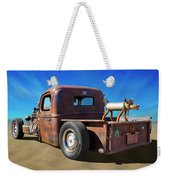 Rat Truck On Beach 2 Weekender Tote Bag