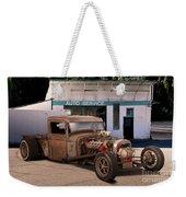 Raunchy Rat Rod Pickup Weekender Tote Bag