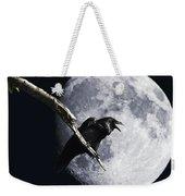 Raven Barking At The Moon Weekender Tote Bag