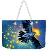 Raven First Bird Weekender Tote Bag