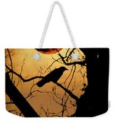 Raven Moon Weekender Tote Bag by Bill Cannon