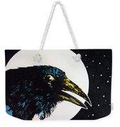 Raven Moon Weekender Tote Bag
