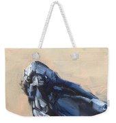 Raven Stare Weekender Tote Bag