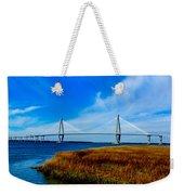 Ravenal Bridge Charleston South Carolina Weekender Tote Bag