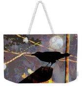 Ravens Night Weekender Tote Bag
