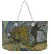 Ravine With A Small Stream Saint Remyde Provence  October 1889 Vincent Van Gogh 1853  1890 Weekender Tote Bag