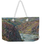 Ravines Of The Creuse At The End Of The Day Weekender Tote Bag