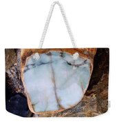 Raw Jadite Rock Weekender Tote Bag