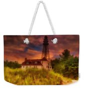 Rawley Point Lighthouse Weekender Tote Bag