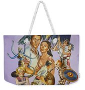 Ray Harryhausen Tribute Seventh Voyage Of Sinbad Weekender Tote Bag
