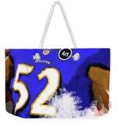 Ray Lewis  Weekender Tote Bag