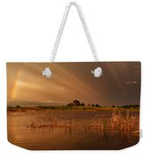 Nature's Light Show Weekender Tote Bag