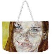 Rayah Newman, Portrait Weekender Tote Bag