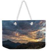 Rays Above Tecate Peak Weekender Tote Bag