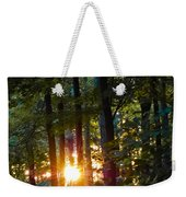 Rays Of Dawn Weekender Tote Bag