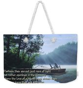 Rays Of Light - Place To Ponder Weekender Tote Bag