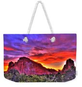 Rays Of The Gods Weekender Tote Bag