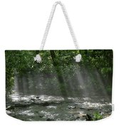 Rays Through The Trees Weekender Tote Bag